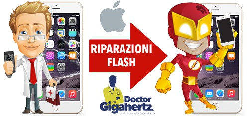 Riparazioni Flash Prodotti Apple